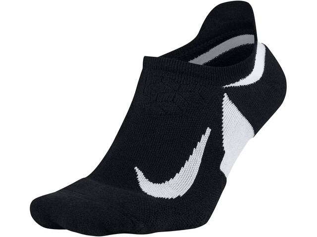 Nike Dry Elite Cushioned No-Show Socks black/white